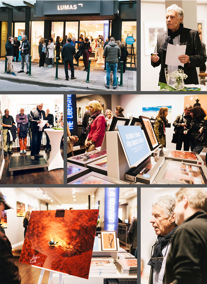 Impressionen von den Meet the Artist Events mit Dieter Blum